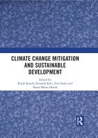 Climate Change Mitigation and Sustainable Development PDF