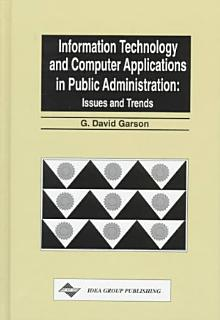 Information Technology and Computer Applications in Public Administration Book