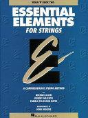 Essential Elements for Strings   Violin PDF