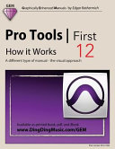 Pro Tools First 12   How It Works