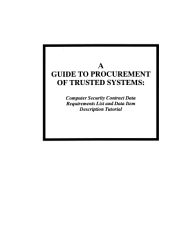 A Guide to Procurement of Trusted Systems PDF