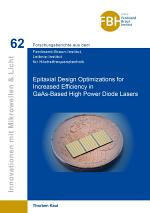 Epitaxial Design Optimizations for Increased Efficiency in GaAs-Based High Power Diode Lasers