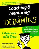 Coaching and Mentoring For Dummies PDF