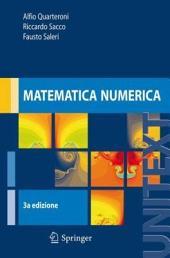 Matematica numerica: Edizione 3