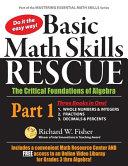 Basic Math Skills Rescue  Part 1 PDF