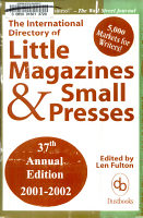 International Directory of Little Magazines and Small Presses PDF