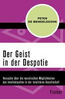 Der Geist in der Despotie PDF