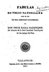 Fábulas en verso castellano para el uso del Real Seminario Vascongado