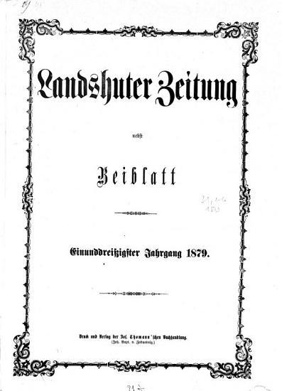 Landshuter Zeitung0 PDF