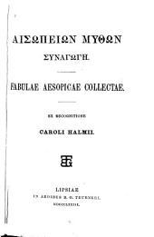 Fabulae Aesopicae collectae