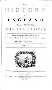 History of England: Volume 1