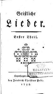 Geistliche Lieder: Band 2