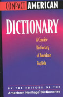 Compact American Dictionary PDF