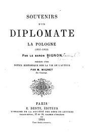 Souvenirs d'un diplomate