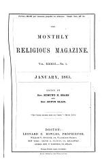 The Monthly Religious Magazine