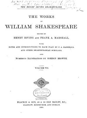 The Works of William Shakespeare  Timon of Athens  Cymbeline  The tempest  Titus Andronicus  The winter s tale PDF