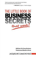 The Little Book of Business Secrets That Work