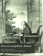 Oeuvres complètes: Motets