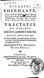 Tractatus de viribus medicamentorum