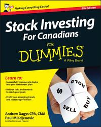 Stock Investing For Canadians For Dummies Book PDF