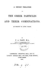 A short treatise on the Greek particles and their combinations