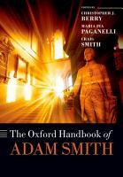 The Oxford Handbook of Adam Smith PDF