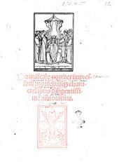 Pontificale nouiter impressum: perpulchrisque characteribus diligentissime annotatum