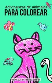 Adivinanzas de Animales para Colorear: 💖Dibujos para colorear, pintar jugar y aprender🐰🐷🦁