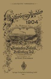 Helfenberger Annalen 1904: Band 17