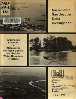 Sacramento San Joaquin Delta Investigation