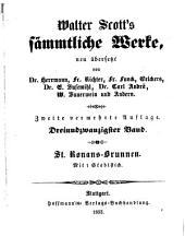 Sämmtliche Werke: St. Ronans-Brunnen : ein Roman, Band 23
