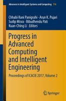 Progress in Advanced Computing and Intelligent Engineering PDF