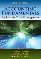 Accounting Fundamentals for Health Care Management PDF
