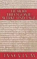 Theogonie   Werke und Tage PDF