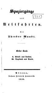Spaziergaenge und Weltfahrten: Bände 1-3
