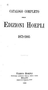 XXV anni di vita editoriale: 1871-1905