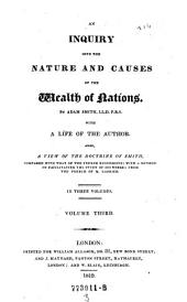 An iinquiry into the causes of the wealth of Nations
