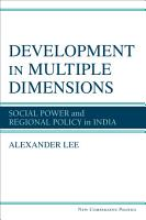 Development in Multiple Dimensions PDF