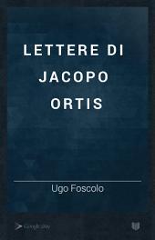 Lettere di Jacopo Ortis