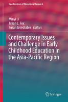 Contemporary Issues and Challenge in Early Childhood Education in the Asia Pacific Region PDF