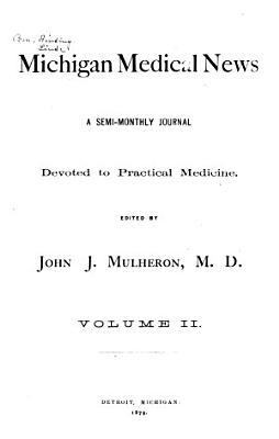 Michigan Medical News PDF