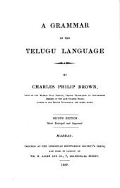 A Grammar of the Telugu Language