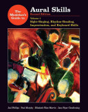 The Musician s Guide to Aural Skills  Sight singing  rhythm reading  improvisation  and keyboard skills Book