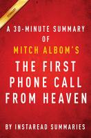 The First Phone Call from Heaven by Mitch Albom   A 30 minute Summary PDF