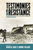 Testimonies of Resistance PDF