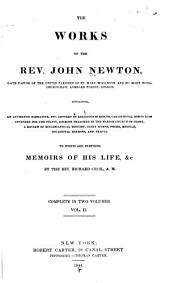 The Works of the Rev. John Newton ...: To which are Prefixed, Memoirs of His Life, &c, Volume 2