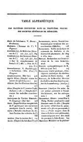 Archives générales de médecine: Volume30