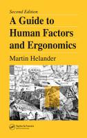A Guide to Human Factors and Ergonomics PDF