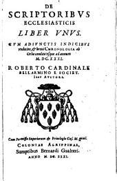 De scriptoribus ecclesiasticis: liber unus