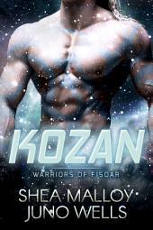 Kozan: Warriors of Fisoar: Sci-fi Alien BBW Romance